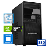 COMPUGEAR Deluxe DC7F-16R250M1H-G30 (met Core i7, 16GB RAM, 250GB M.2 SSD, 1TB HDD en GT 1030)_