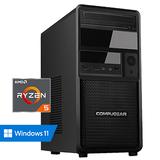 COMPUGEAR Premium PR5G-16R250M1H (met Ryzen 5 5600G, 16GB RAM, 250GB M.2 SSD en 1TB HDD)_
