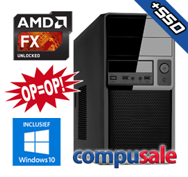 AMD FX-8800P / 8GB / 480GB SSD / WINDOWS 10 [OP=OP! Desktop PC]
