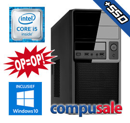 Intel Core i5 6500 / 8GB / 480GB SSD / WINDOWS 10 [OP=OP! Desktop PC]