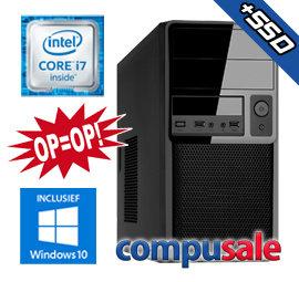 Intel Core i7 4790 / 8GB / 480GB SSD / WINDOWS 10 [OP=OP! Desktop PC]