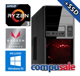AMD Ryzen 3 3200G / 8GB / 480GB SSD / RX Vega 8 / WINDOWS 10 [OP=OP! Game PC]