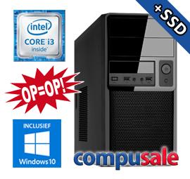 Intel Core i3 8100 / 8GB / 1240GB SSD+HDD / WINDOWS 10 [OP=OP! Desktop PC]