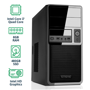 RETRONIC® DG4-C7-8R480S - Core i7 / 8GB RAM / 480GB SSD / Windows 10 Pro