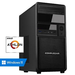 COMPUGEAR Premium PAG-8R240S1H (met Athlon 3000G, 8GB RAM, 240GB SSD en 1TB HDD)
