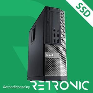 Core i5 3470 / 8GB / 128GB SSD / DVD / Windows 10 [Dell Optiplex 7010 SFF]