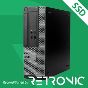 Core i3 2120 / 8GB / 240GB SSD / Windows 10 [Dell Optiplex 390 SFF]