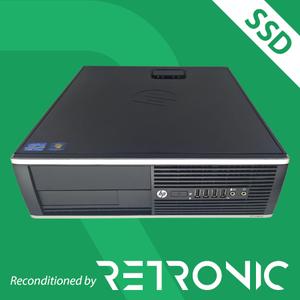 Core i3 3220 / 4GB / 120GB SSD + 250GB / Windows 10 [HP 6300 Pro SFF]