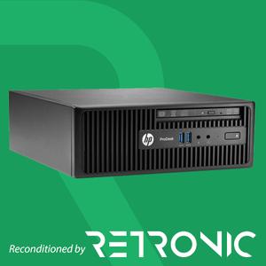 Core i7 4790S / 8GB / 500GB / DVDRW / Windows 10 [HP ProDesk 400 G2.5 SFF]