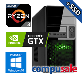 AMD Ryzen 3 2200G / 8GB / 480GB SSD / GTX 1650 4GB / WINDOWS 10 [OP=OP! Game PC]