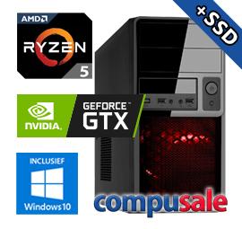 AMD Ryzen 5 2400G / 8GB / 480GB SSD / GTX 1660 6GB / WINDOWS 10 [OP=OP! Game PC]
