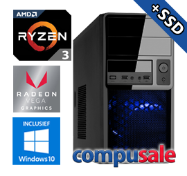 AMD Ryzen 3 2200G / 8GB / 480GB SSD / RX Vega 8 / WINDOWS 10 [OP=OP! Game PC]