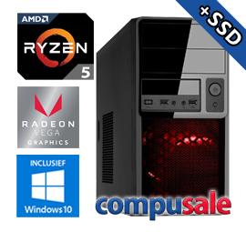 AMD Ryzen 5 2400G / 8GB / 480GB SSD / RX Vega 11 / WINDOWS 10 [OP=OP! Game PC]
