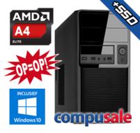 AMD PRO A4-3350B / 8GB / 240GB SSD / WINDOWS 10 [OP=OP! Desktop PC]