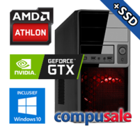 AMD Athlon X4 950 / 8GB / 480GB SSD / GTX 1650 4GB / WINDOWS 10 [OP=OP! Game PC]