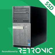 Core i7 4770 / 8GB / 250GB SSD / DVDRW / Windows 10 [Dell Optiplex 9020 MT]