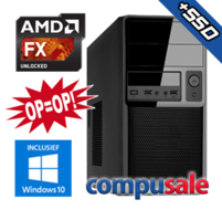 AMD FX-8800P / 8GB / 240GB SSD / WINDOWS 10 [OP=OP! Desktop PC]