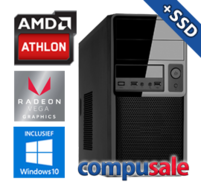 AMD Athlon 200GE / 8GB / 240GB SSD / RX Vega 3 / WINDOWS 10 [Desktop PC samenstellen]