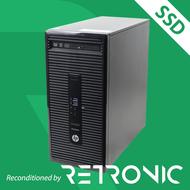 Core i5 6500 / 8GB / 120GB SSD + 500GB / DVDRW / Windows 10 [HP ProDesk 400 G3 MT]